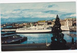 Ferry MV Queen of Victoria at VICTORIA , B.C. , Canada , 50-60s