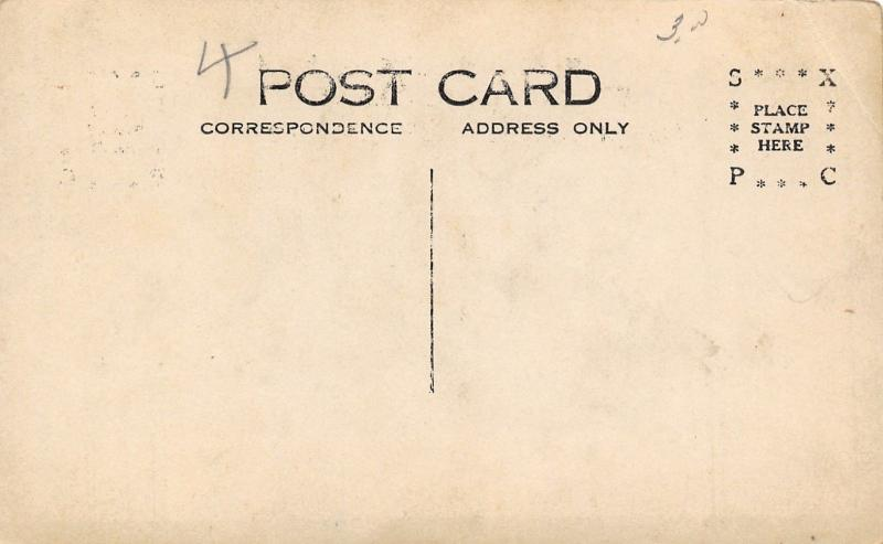 Farm Real Photo Postcard~Old Farmer & Young Guy~2 Horse Buggies~Barn~1912 RPPC
