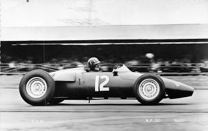 Graham Hill Driving the BRM in British Empire Trophy Race at Silverstone 1961...