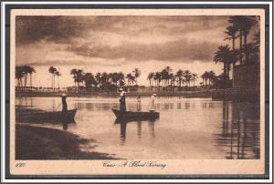 Egypt, Cairo - Flood Scenery - [FG-090]