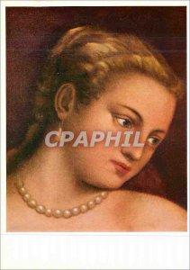 Postcard Modern Tizian Venus (Detail) Uffizien Florenz