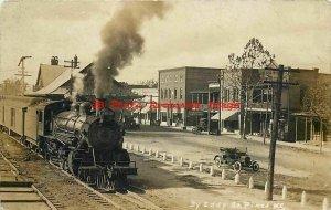 Depot, North Carolina, Southern Pines, RPPC, Seaboard Air Line Railroad Station