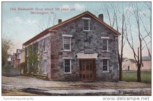 Old Blacksmith Shop About 100 Years Old Bennington Vermont 1908
