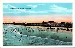 Florida Jacksonville Beach Scene Along The Beach
