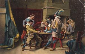 Soldiers Gambling by Jean Louis Ernest Meissonier London