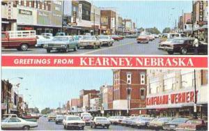 Street Scenes, Kearney, Nebraska, NE, Chrome