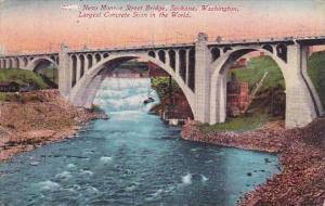 Washington Spokane New Monroe Street Bridge