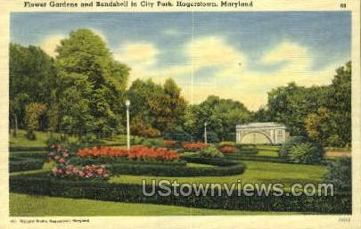 Bandshell, City Park Hagerstown MD Unused
