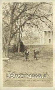 Real Photo - Wheaton College Norton MA Unused