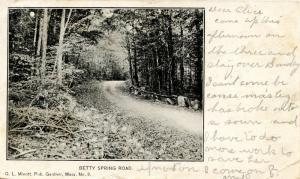MA - Gardner. Betty Spring Road