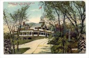 Car Entrance & Casino, Riverton Park, Portland, Maine, 1900-10s