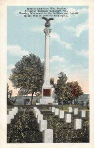 LPS55 Arlington Virginia Postcard Arlington National Cemetery Monument