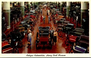 Antique Automobiles Henry Ford Museum Dearborn Michigan