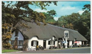 Hampshire; New Forest, The Cat & Fiddle, New Forest PPC By Dennis, Unused, c 80s