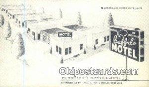 Buffalo Motel, Lincoln, NE, USA Motel Hotel Unused