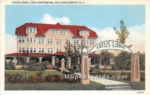 Lotus Lodge Lake Huntington NY Unused