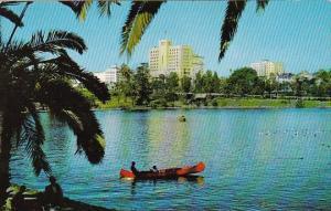 California Los Angeles Lake In General Douglas Mac Arthur Park