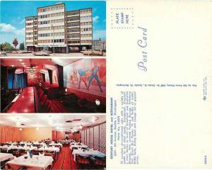 Century House Motel and Restaurant, Seattle, Washington, WA, pre-zip code chrome
