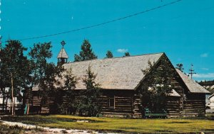 WHITEHORSE, Yukon, Canada, 1940-60s; The Old Log Church