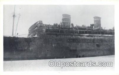 S.S. Morro Castle - Asbury Park, N.J. USA Steamer, Steamers, Ship, Ships Post...