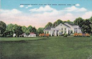 Mississippi Meridian Northwood Country Club and 18th Green 1947