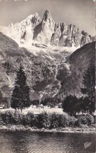 France Chamonix Les Praz les Bois le Dru et l'Aguille Verte Photo