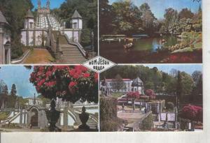 Postal 014230: Vistas varias de Bom Jesus en Braga, Portugal