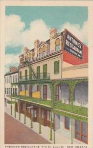 Louisiana New Orleans Antoines Restaurant