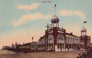 ATLANTIC CITY, New Jersey, PU-1910; Steel Pier