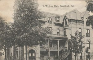 BRANTFORD , Ontario , PU-1907;  Y.W.C.A. Hall