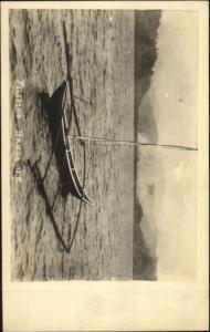 Philippines Filipino Banca Boat c1915-20s Real Photo Postcard
