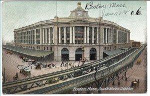 Boston, MA - South Union Station - 1906