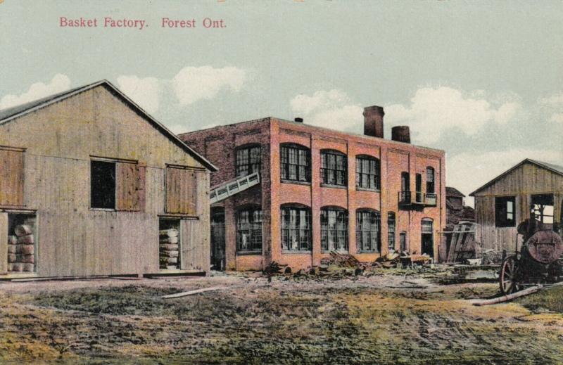 FOREST , Ontario , 1900-10s ; Basket Factory