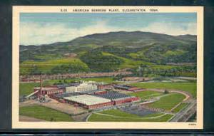 Tennessee colour PC American Bemberg Plant, Elizabethton, unused