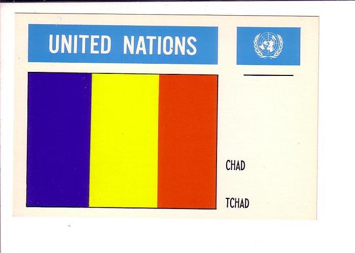 Chad, Flag, United Nations