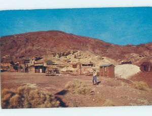 Pre-1980 PANORAMIC Calico Ghost Town - Yermo & Barstow & Victorville CA i0043