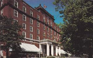 Exterior,  The Charlottetown Hotel,  Charlottetown,  P.E.I.,  Canada,  PU_1960