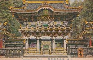 Yomeimon Toshogu Nikko Antique Japanese Postcard