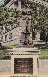 NASHVILLE, Tennessee, PU-1914; Sam Davis Monument