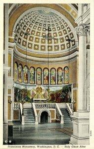 DC - Washington. Franciscan Monastery. Holy Ghost Altar