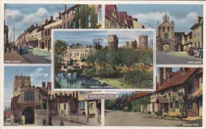 Multi-Views With 12 Pop-Up Views From WARWICK, England, UK, 1910-1920s