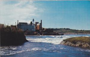 High Tide,  Reversing Falls,  Saint John,  New Brunswick,   Canada,  40-60s