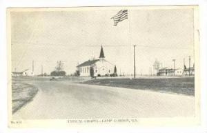 Typical Chapel, Camp Gordon, Georgia, 1942
