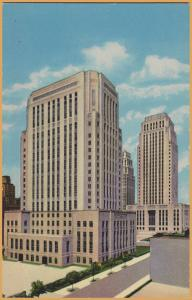 Kansas City, MO., Civic Center, Jackson County Courthouse -