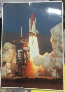 United States Space Shuttle Discovery lifts off from Pad 39a - posted 1993