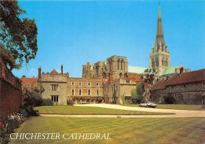 Chichester Cathedral, Bishop's Palace Auto Cars