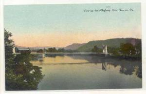 View Up The Allegheny River, Warren, Pennsylvania, 1900-1910s
