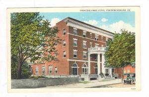 Princess Anne Hotel,Fredericksburg,Virginia,1900-10s