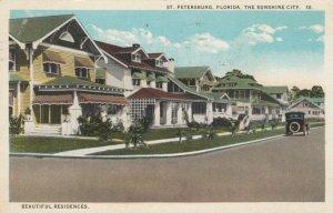 ST. PETERSBURG, Florida, 1900-10s; Beautiful Residences