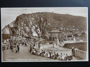 Devon: Ilfracombe Ex Animated Scene Capstone from Promenade Old RPPC J R Wheeler